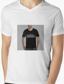 Do you like cuddling? What about cunnilingus? Try both. Mens V-Neck T-Shirt