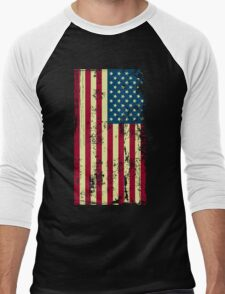4th of july Day Men's Baseball ¾ T-Shirt