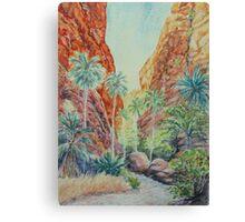 Mini Palms, Purnululu, Kimberly, Australia Canvas Print