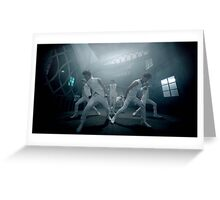 Hyde Group White Greeting Card
