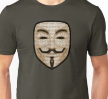 Anonymous - V for Vendetta Unisex T-Shirt