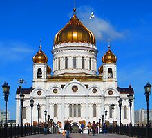 Church in  Moscow, Russia by DavidResnick354