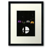 4 Player Smash Framed Print