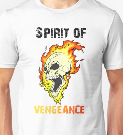 The Spirit of Vengeance - The Ghost Rider Unisex T-Shirt