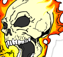 The Spirit of Vengeance - The Ghost Rider Sticker