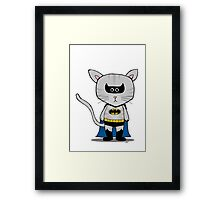 Batman DC - Gizmo The Cat Framed Print