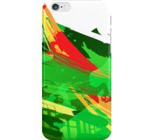 Green Subway Background iPhone Case/Skin