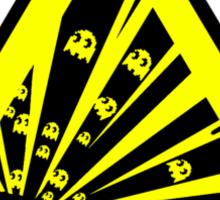Indulgence explosion warning Sticker