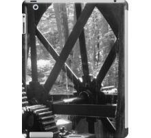 Dellinger's Water wheel at the Grist Mill iPad Case/Skin