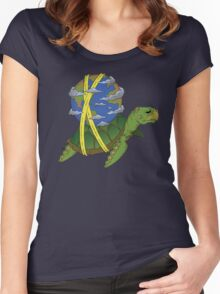 Turtle Earth Women's Fitted Scoop T-Shirt