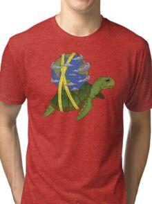 Turtle Earth Tri-blend T-Shirt