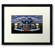 41 Cadillac Blue on Blue Capturing the Mood of an Age Framed Print