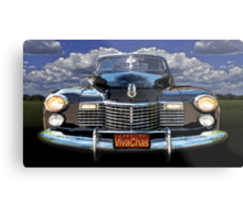 41 Cadillac Blue on Blue Capturing the Mood of an Age Metal Print