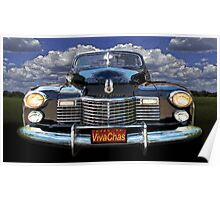 41 Cadillac Blue on Blue Capturing the Mood of an Age Poster