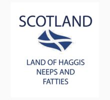 Land Of  Haggis Neeps And Fatties by Rois Bheinn Art and Design
