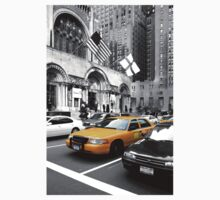 NYC Yellow Cabs Avenue One Piece - Short Sleeve