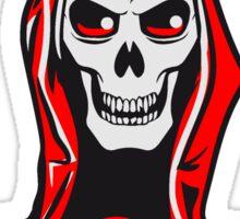 Death hooded robe evil Sticker
