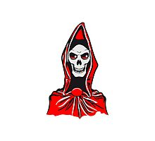 Death hooded robe evil Photographic Print