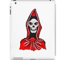 Death hooded robe evil iPad Case/Skin