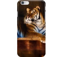 Lounging Tigers iPhone Case/Skin