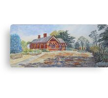 Truganina Explosives Reserve Keeper's Quarters, Altona Canvas Print