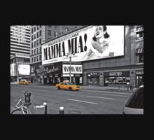 NYC Yellow Cabs Mamma Mia One Piece - Long Sleeve