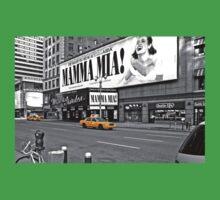 NYC Yellow Cabs Mamma Mia One Piece - Short Sleeve