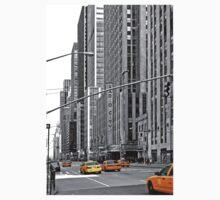 NYC Yellow Cabs Radio City Music Hall One Piece - Short Sleeve