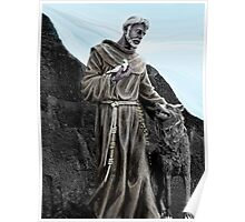 St Francis Of Assisi On Isabela In The Galapagos Poster