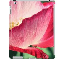 Red Poppy in Sunlight iPad Case/Skin