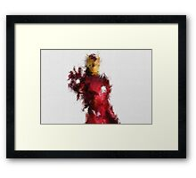Made of Iron Framed Print