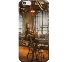 Machinist - The crowded workshop iPhone Case/Skin