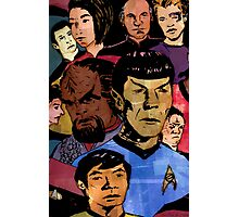 Faces of the Final Frontier Photographic Print