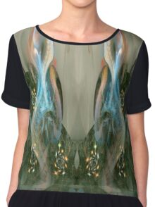 Synaesthesia - shapes of music 2 Chiffon Top