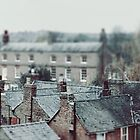 Stratford-upon-Avon Rooftops by Indea Vanmerllin