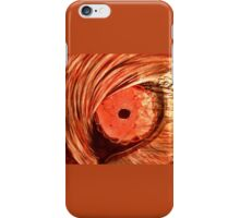 Orange Wolf Eye iPhone Case/Skin