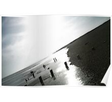 Cooden Beach East Sussex Poster