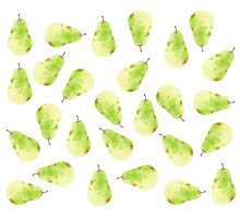 Patterns Everyday_ Green Pears Photographic Print