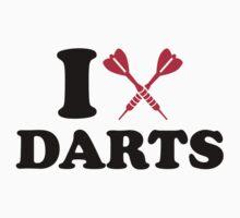I love Darts Kids Clothes