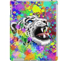 Leopard Psychedelic Paint Splats iPad Case/Skin