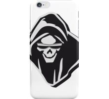 Death hooded evil sunglasses creepy iPhone Case/Skin