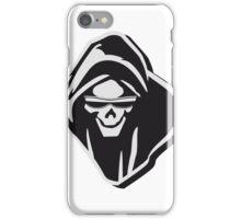 Death hooded evil sunglasses creepy iPhone Case/Skin