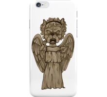 Weeping Angel x French Bulldog iPhone Case/Skin