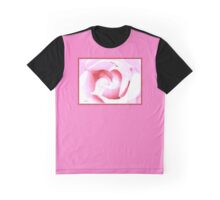 Suggestion of a Rose - Pink Graphic T-Shirt