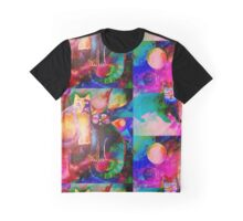 Colourful Cats Graphic T-Shirt