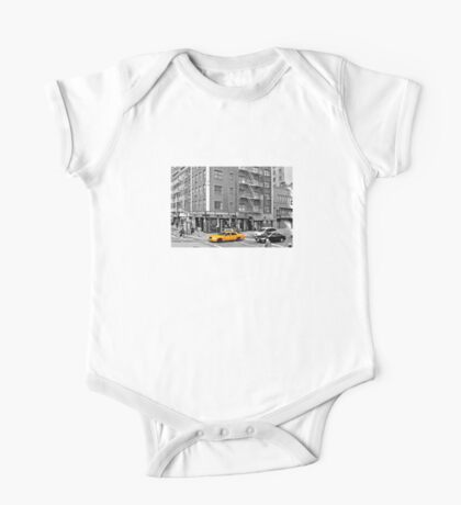 NYC Yellow Cabs Bagel Cafe One Piece - Short Sleeve