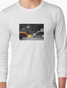 NYC Yellow Cabs Oscar Night Long Sleeve T-Shirt
