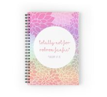 """Totally Not For Robron Fanfic"" - Notebooks Spiral Notebook"