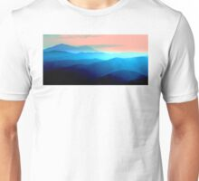 Lake County Blue Mountains Pencil Skirt Unisex T-Shirt
