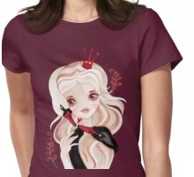 Swan Princess Womens Fitted T-Shirt